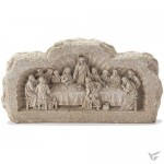 Last supper - Sculpture - 13 cm high