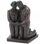 Praying Couple - Sculpture - 14 cm