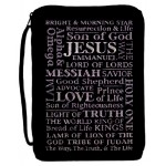 Biblecase black/with names of Jesus