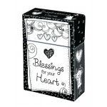 Boxes Of Blessings - 50 Cards - 65x25x94mm Blessings for your heart - 50 Karten in Box
