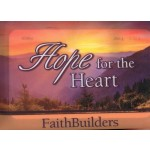 Hope for the Heart - Faith Builders 5x4 cards, 80 x 50 mm