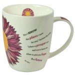 For I Know the plans, Mug 400 ml in gift box Tasse in Geschenkverpackung