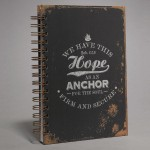 We have this Hope as an Anchor - Large Wirobound Journal - 150 x 210 mm