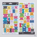 Bible book tabes Color - Cardst stickers