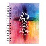 Notebook With God all things are