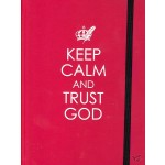 Keep Calm and Trust God, Journal 17 x 12 cm
