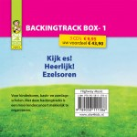 Pakket BACKINGTRACK 1  (3 cd's)